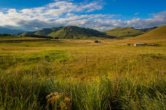 Mountain Valley Summer Landscape Royalty Free Stock Photos