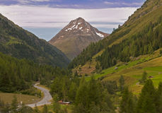 Mountain valley, Tirol, Austria Stock Image