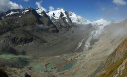 Mountain valley under Grossglockner Stock Image