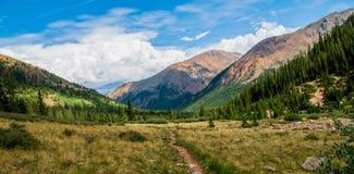 Mountain Vally Royalty Free Stock Photos