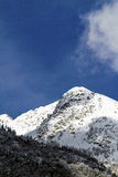 Mountain in Valtellina Stock Photography