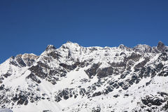 Mountain in Valtellina Royalty Free Stock Image