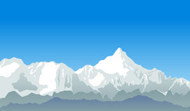 Mountain vector Stock Images