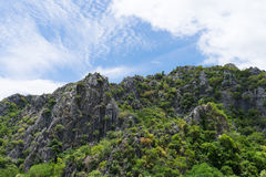 Mountain View élevé en Thaïlande Photographie stock