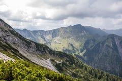 Mountain View in Österreich lizenzfreies stockfoto