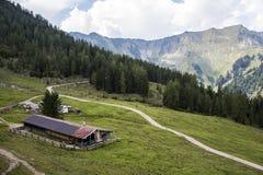 Mountain View in Österreich lizenzfreie stockbilder