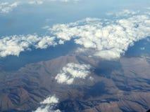 Mountain View от неба стоковая фотография rf