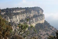 Mountain View от Tavertet, Каталонии Стоковые Изображения RF