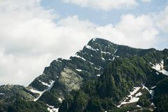 Mountain view royalty free stock images