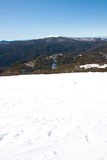 Mountain View. Whilst On Ski Holiday In Mountains Stock Photos