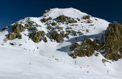 Mountain View (4), chevalier de Serre, France Images stock