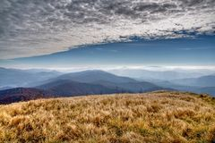 Mountain View Stockfoto