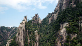 Mountain view. In China's Jiangxi Province on Sanqingshan shooting Royalty Free Stock Photos