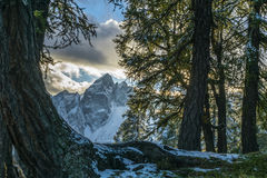 Mountain View Images libres de droits