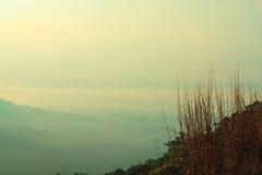 Mountain View aérien Photographie stock libre de droits