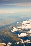 Mountain View aereo Immagini Stock