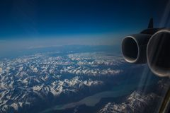 Alaskan mountains royalty free stock photos