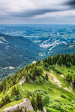 Mountain View in the Alps Royalty Free Stock Photography