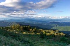 Mountain View ampio Fotografia Stock Libera da Diritti
