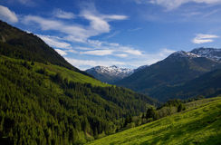 Mountain view in Austria Royalty Free Stock Image