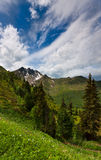 Mountain view in Austria Stock Photography