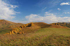 Mountain view in autumn. Outdoor Royalty Free Stock Photography