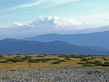 Mountain View azul Imagens de Stock Royalty Free