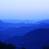 Mountain View azul Foto de archivo