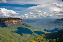 Mountain View azul Fotos de archivo