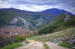 Mountain View búlgaro Fotografía de archivo