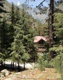 The mountain view. stock photos