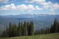 Mountain View a Beaver Creek Colorado Fotografia Stock Libera da Diritti