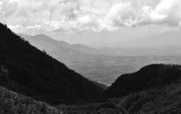 Mountain View bonitos foto de stock