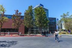 MOUNTAIN VIEW, CA, EUA - 14 de agosto de 2014: Vista exterior de Google Fotos de Stock