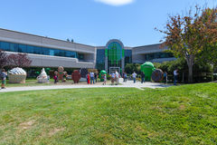 MOUNTAIN VIEW, CA, USA - August 14, 2014: Exterior view of a Google Royalty Free Stock Photos