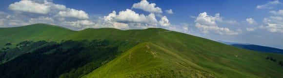 Mountain view. In carpathian mountains Ukraine Royalty Free Stock Photos