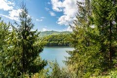 Mountain View carpathien sur la route de Transfagarasan en Roumanie photos libres de droits