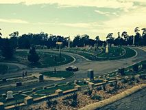 Mountain View Cemetery. Oakland California Stock Image