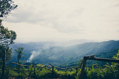 Mountain view. At chiangmai thailand Stock Images