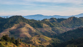 Mountain View. In Chiangmai Thailand Stock Images