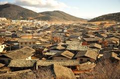 Mountain View chino de la ciudad Foto de archivo