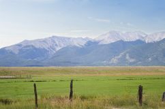 Mountain View in Colorado Royalty Free Stock Photos