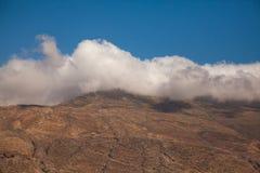 Mountain View con el cloudscape Imagen de archivo libre de regalías