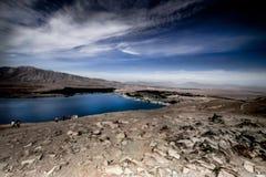 Mountain View, corrientes y lagos de Nueva Zelanda d Y foto de archivo