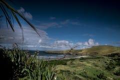 Mountain View, corrientes y lagos de Nueva Zelanda d Y fotografía de archivo