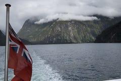 Mountain View, corrientes y lagos de Nueva Zelanda d Y imagenes de archivo