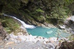 Mountain View, courants et lacs du Nouvelle-Zélande d Y Images libres de droits