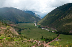 Mountain view, Cusco Peru Stock Photography