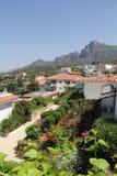 MOUNTAIN VIEW IN CYPRUS WORDT GEVESTIGD DAT Royalty-vrije Stock Fotografie