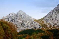 Mountain View d'Alluitz Images libres de droits